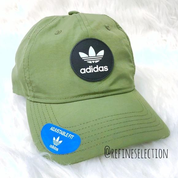 850f7daa2be adidas Army Green Decon Precurve Snapback Cap